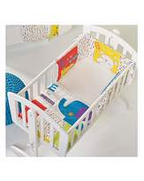 O Baby B is for Bear Happy Safari Crib Set