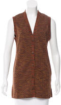 Missoni Chevron Wool Blend Vest