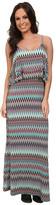 Stetson 9574 Aztec Print Maxi Dress