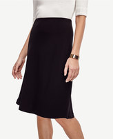 Ann Taylor Petite Flared Knit Skirt
