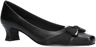 Easy Street Shoes Bow Pumps - Rejoice