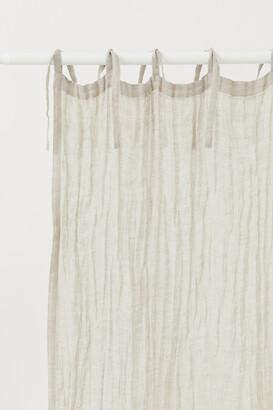 H&M 2-pack Linen Curtain Panels