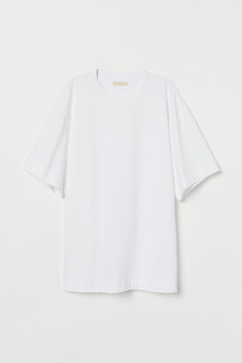H&M Oversized T-shirt - White