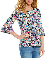 Westbound 3/4 Bell Sleeve Top