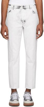 Stella McCartney White Galaxy Wash Denzel Jeans
