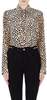 Givenchy WOMEN'S JAGUAR CRÊPE DE CHINE & LAMÉ BLOUSE