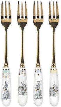 Spode Meadow Lane Set Pastry Forks, Set of 4