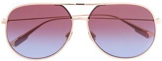 Christian Dior DiorByDior aviator-frame sunglasses