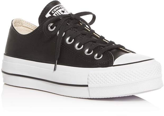 46e277a8d2 Chuck Taylor All Star Lift Clean Low-Top Platform Sneakers