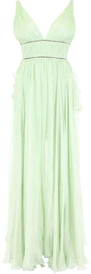 Maria Lucia Hohan Draped Empire Gown