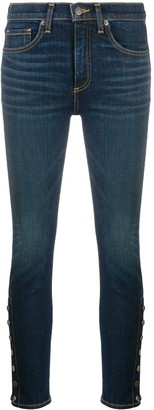 Veronica Beard Debbie side vent jeans