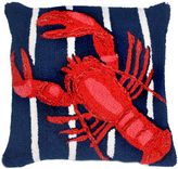 Liora Manné Lobster Indoor/Outdoor Throw Pillow in Navy