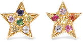 Carolina Bucci 18-karat Gold Sapphire Earrings
