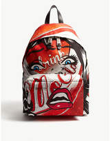 Moschino Face and Cola nylon backpack