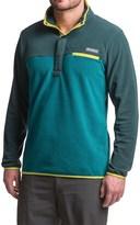 Columbia Mountain Side Fleece Shirt - Snap Neck, Long Sleeve (For Men)