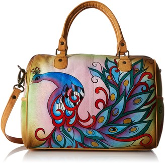 Anuschka Women's Handpainted Leather Large Satchel