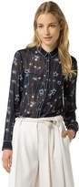 Tommy Hilfiger Sheer Star Blouse
