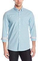 Kenneth Cole New York Men's Long Sleeve Slim Button Down Collar Promo Shirt