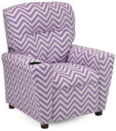 KidzWorld Ziggi Kids Recliner with Cup Holder
