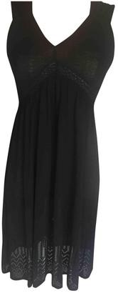 Gerard Darel Black Cotton - elasthane Dress for Women
