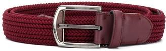 Ermenegildo Zegna Woven Adjustable Belt