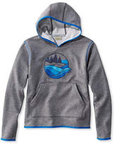 L.L. Bean Kids' Mountain Fleece Hoodie, Pullover Graphic