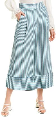 Marella Linen-Blend Pant