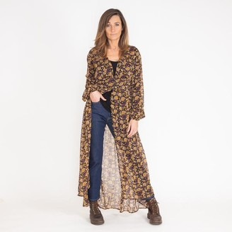 Free People Valerie Honeysuckle Combo Duster - Small