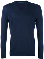 Kiton v-neck jumper - men - Wool - M