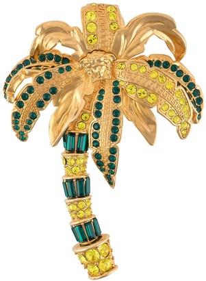 Versace Palm Tree Brooch