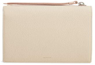 AllSaints Fetch Leather Wallet on a Chain