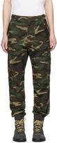 nonnative Green Camo Trooper Cargo Pants