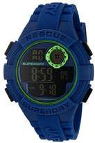 Superdry Men's SYG193U Radar Digital Display Quartz Blue Watch