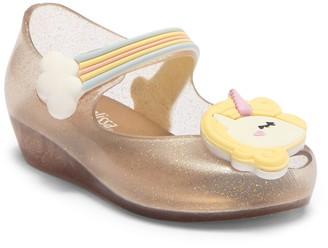 Mini Melissa Ultragirl Unicorn Jelly Flat (Toddler)