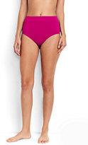 Classic Women's High Waist Bikini Bottoms Control-Red