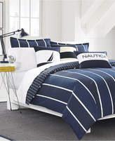 Nautica Knots Bay Cotton Reversible 2-Pc. Twin Duvet Cover Set Bedding