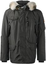 Parajumpers 'Masterpiece' coat - men - Polyester/Acrylic/Wool/Coyote Fur - L