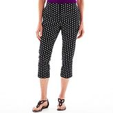 JCPenney Worthington® Sateen Cropped Pants