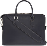 Burberry The Barrow smooth leather briefcase