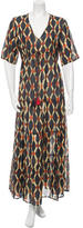 Figue Abstract Print Maxi Dress