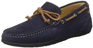 Lumberjack Men's Leman Loafers, (Navy Blue CC001)