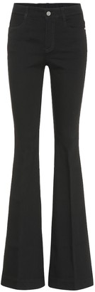 Stella McCartney High-rise bootcut jeans