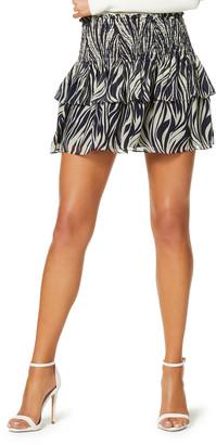 Ramy Brook Briar Printed Mini Skirt