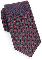 MICHAEL Michael Kors Diamond-Patterned Silk Tie