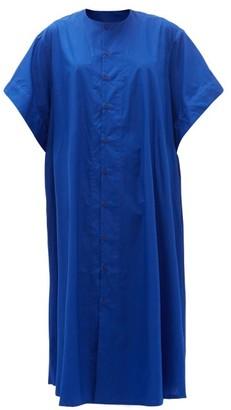 Toogood The Writer Cotton-poplin Shirt Dress - Blue