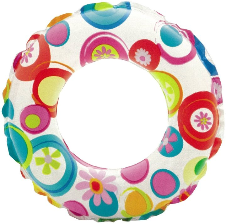 Intex Lively Print Swim Ring - Single