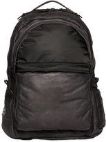 AllSaints Shoto Waxed Leather & Nylon Backpack