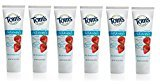 Tom's of Maine Fluoride Free Children's Toothpaste, Silly Strawberry, 4.2 Ounce (Pack of 6)