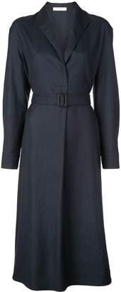 The Row belted waist dress
