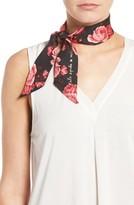 Kate Spade Women's Rosa Silk Skinny Scarf